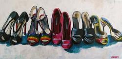 Bianca's Shoes 18x36