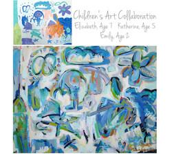 Steindorf Children Collab 36x48