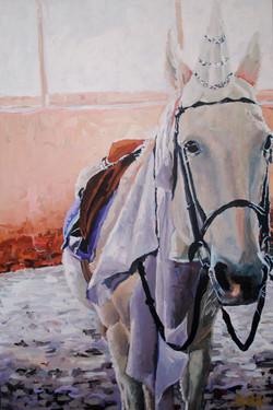 Horse Farm Unicorn Princess 24x36