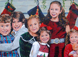 Corcoran Grandchildren 30x40
