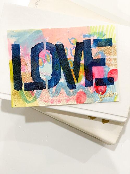 Original Lover Painting Unframed #12