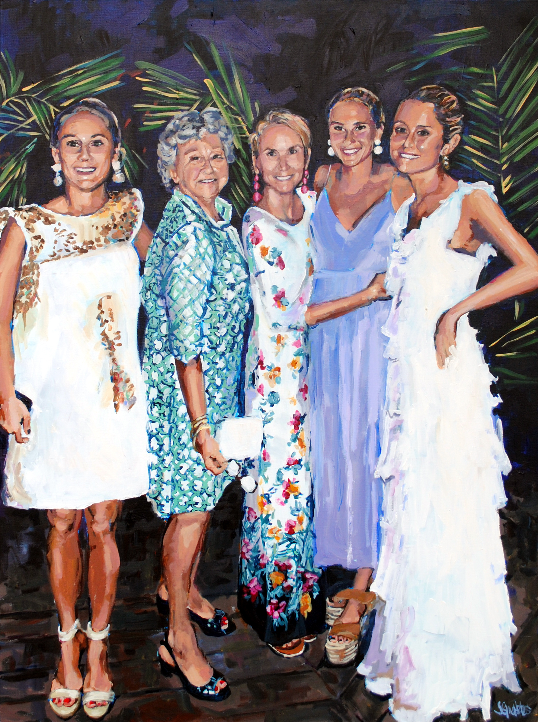 The Girls 30x40