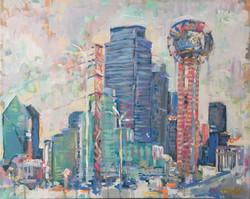 Dreamsicle Dallas 16x20