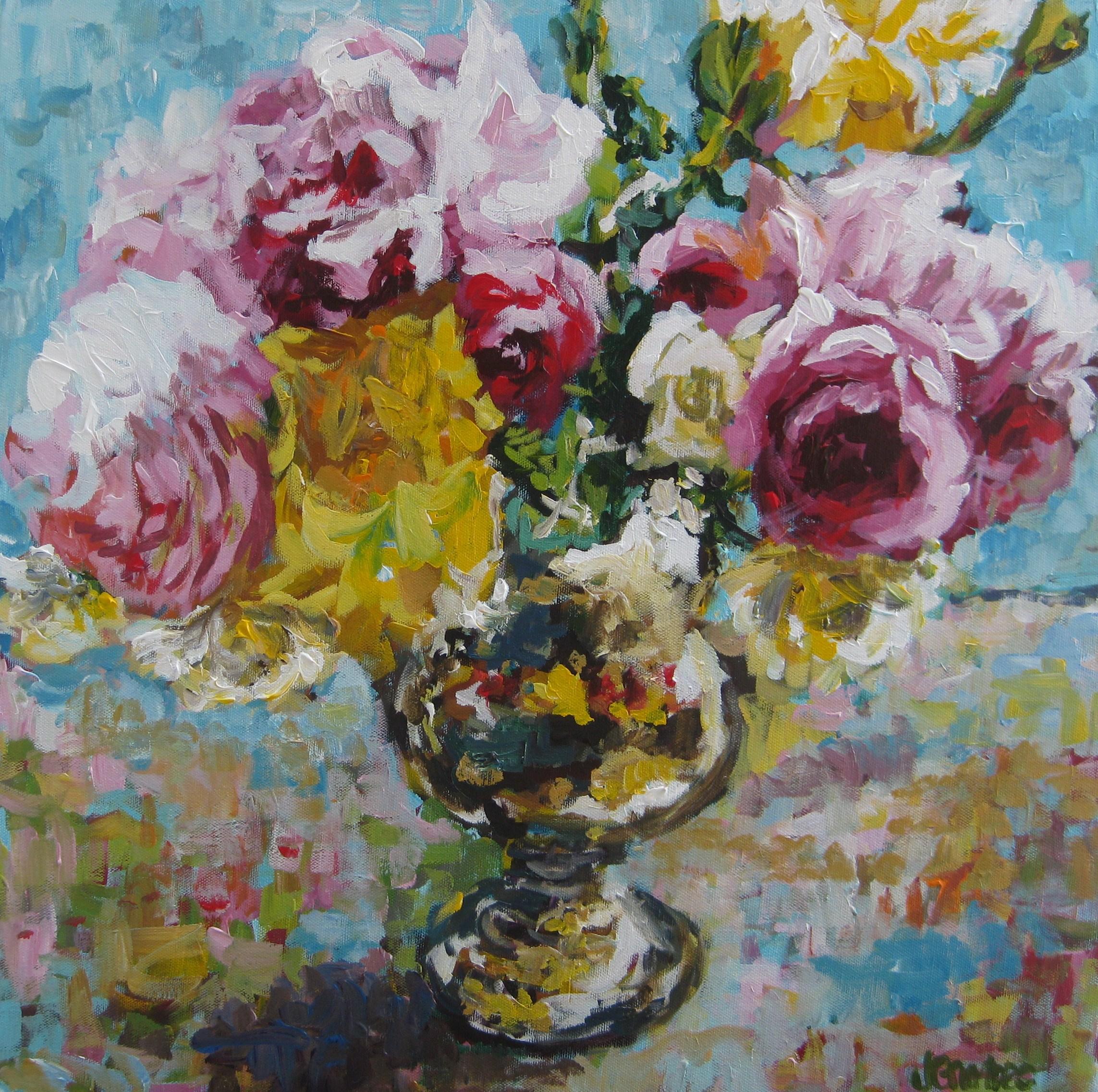 Floral Still 20x20