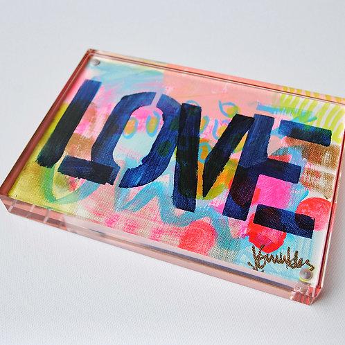 Original Pink Lover Block, TWELVE