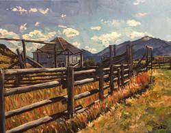 Montana Barn 11x14