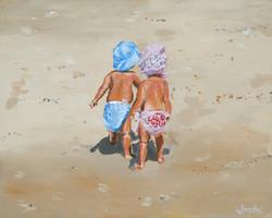 Ralston Beach Babies 1 16x20