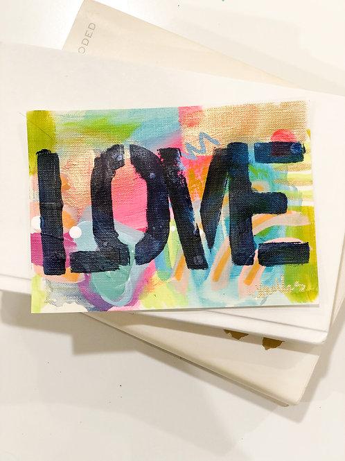 Original Lover Painting Unframed #13