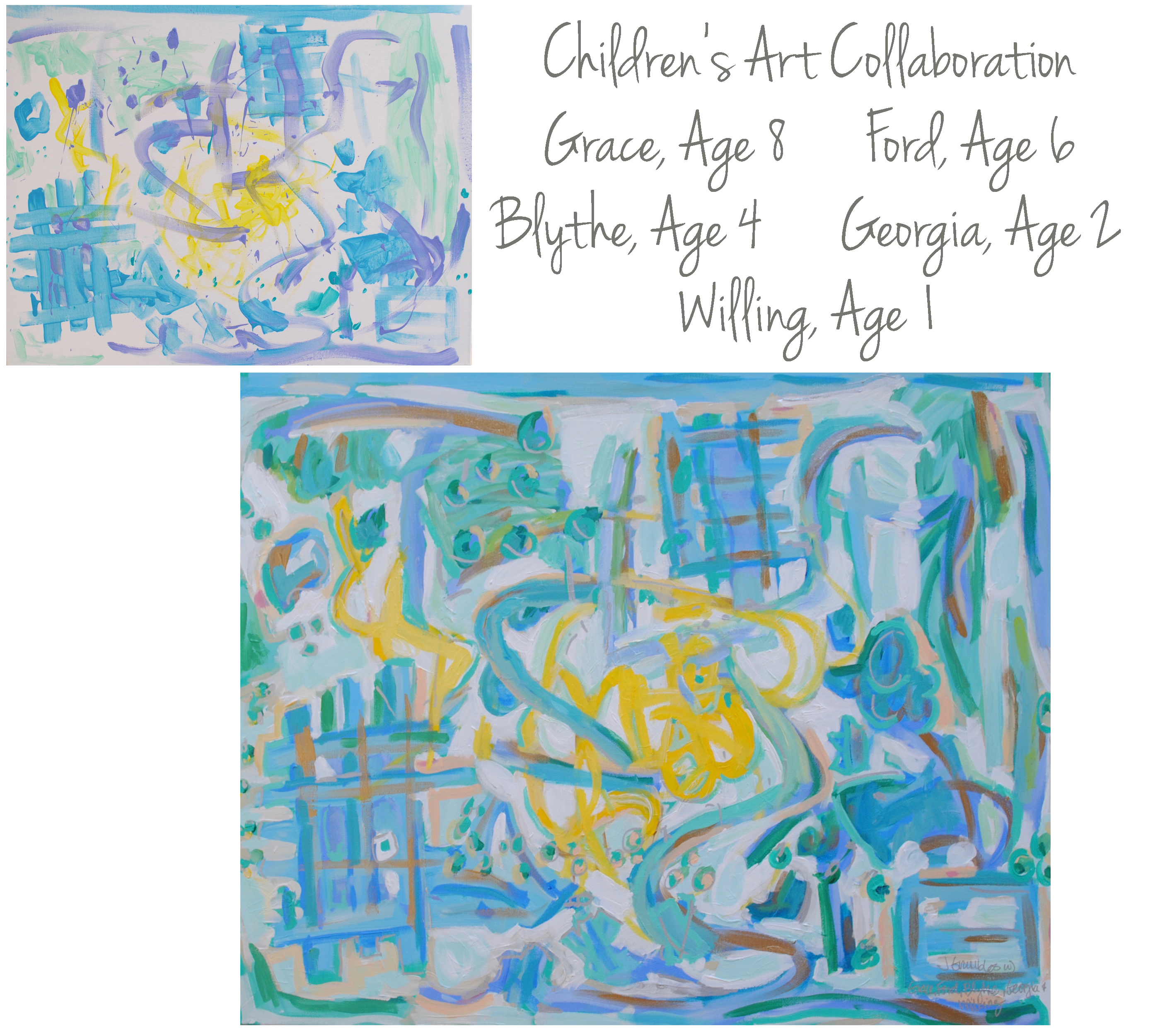 McEvoy Children Collaboration 24x30