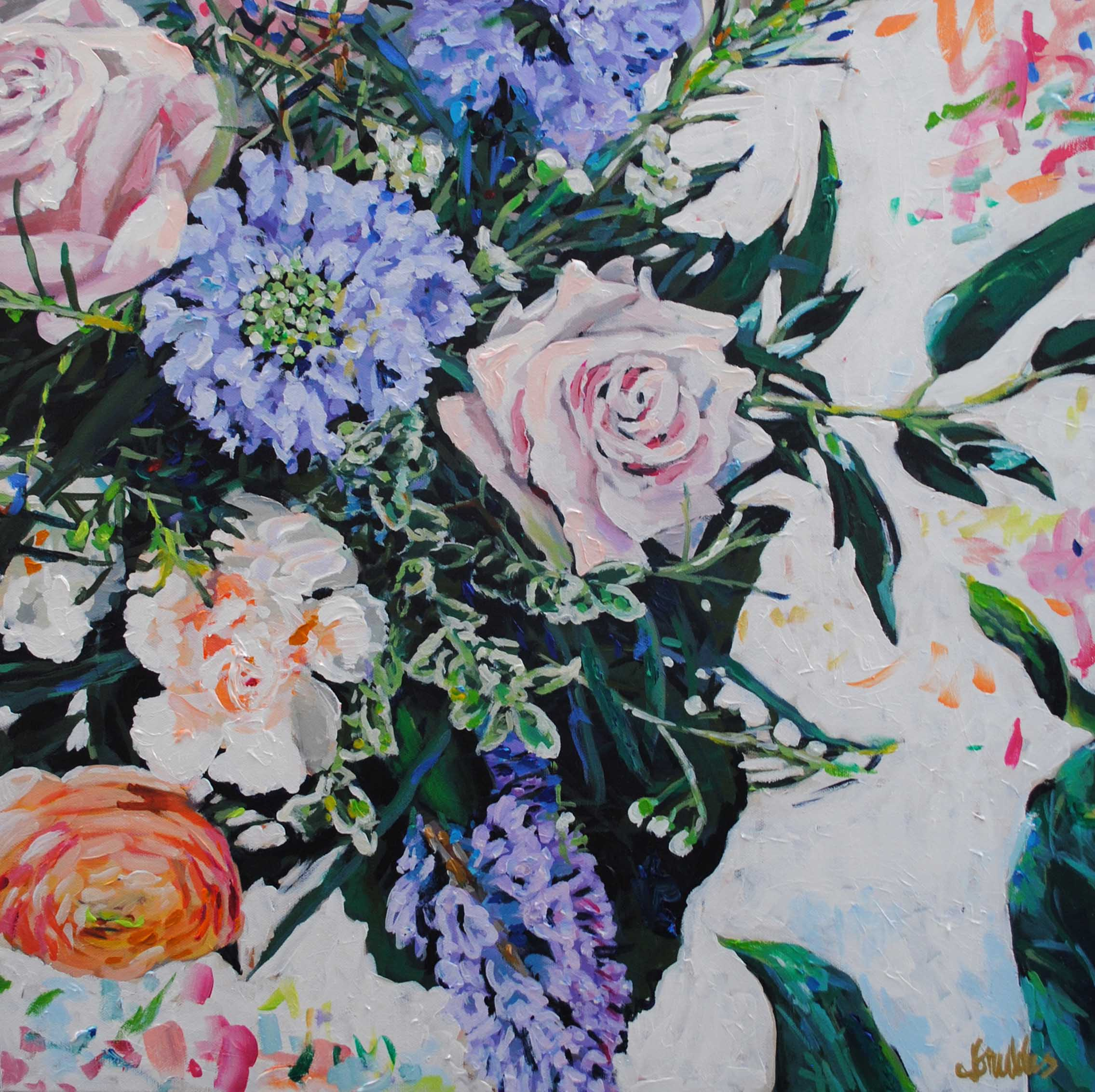 The Floral Project 24x24