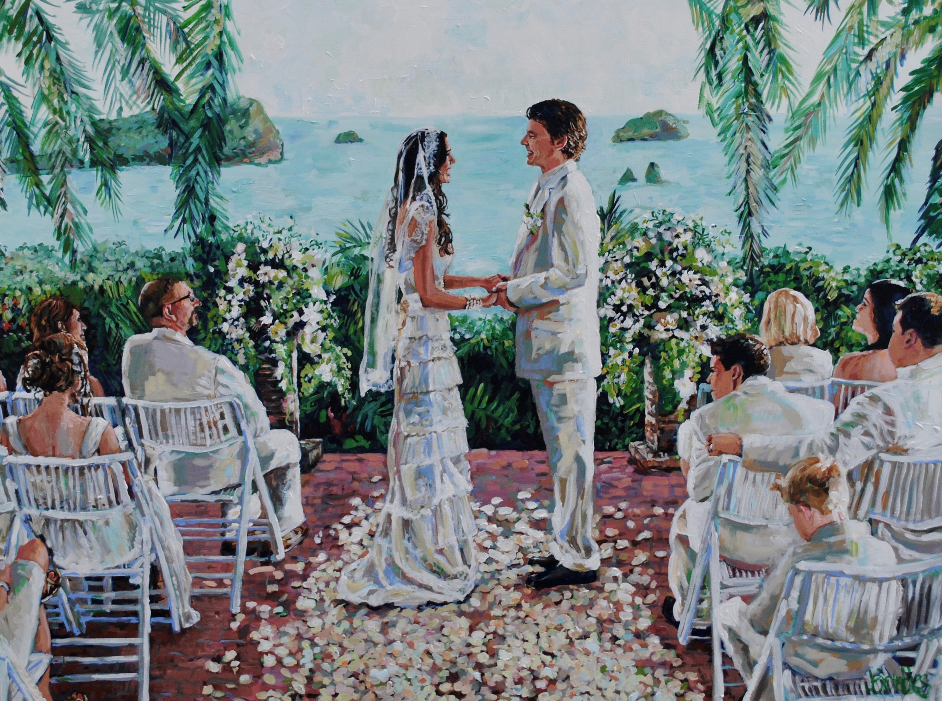 Costa Verde Wedding 38x48