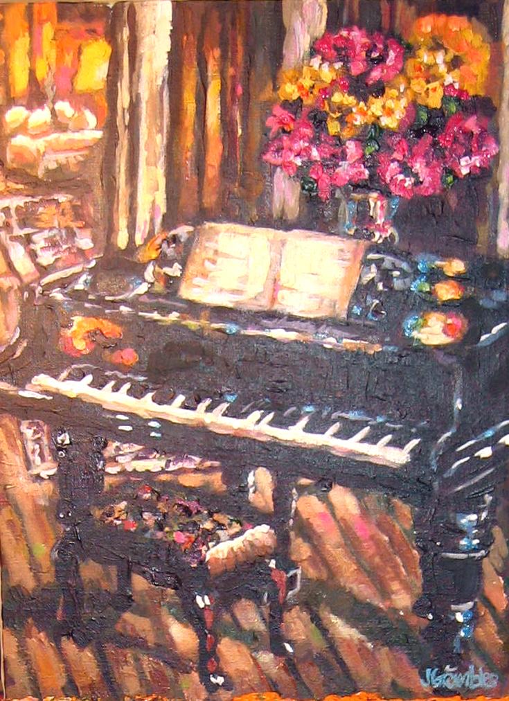 Piano 12x16