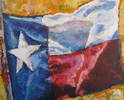 Texas Flag 24x30