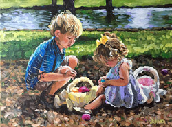 Easter Babies 9x12