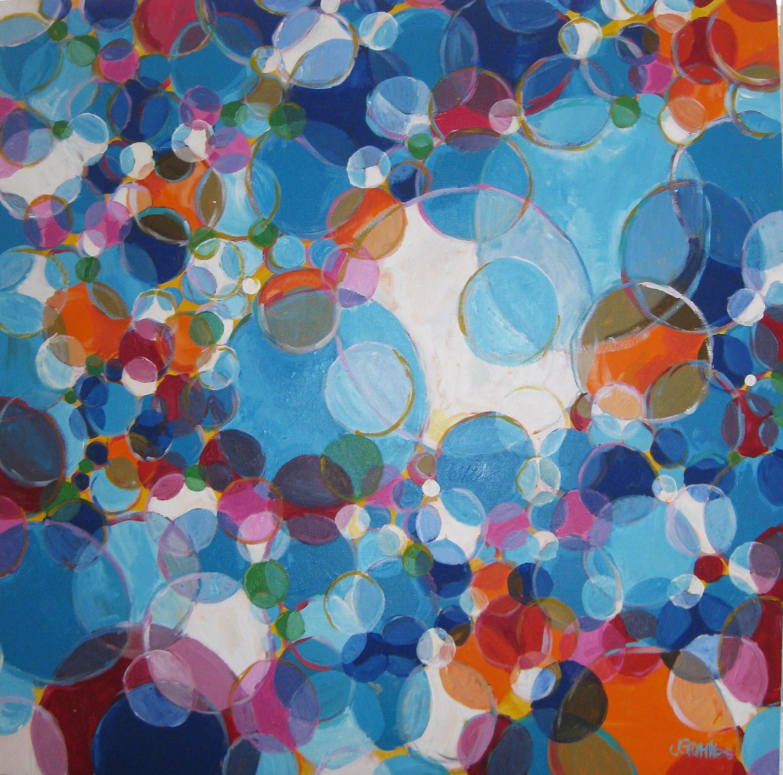 Bubbles 36x36