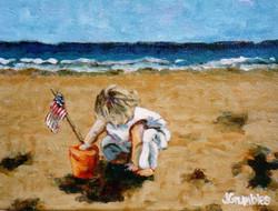 Beach Baby No 2 11x14