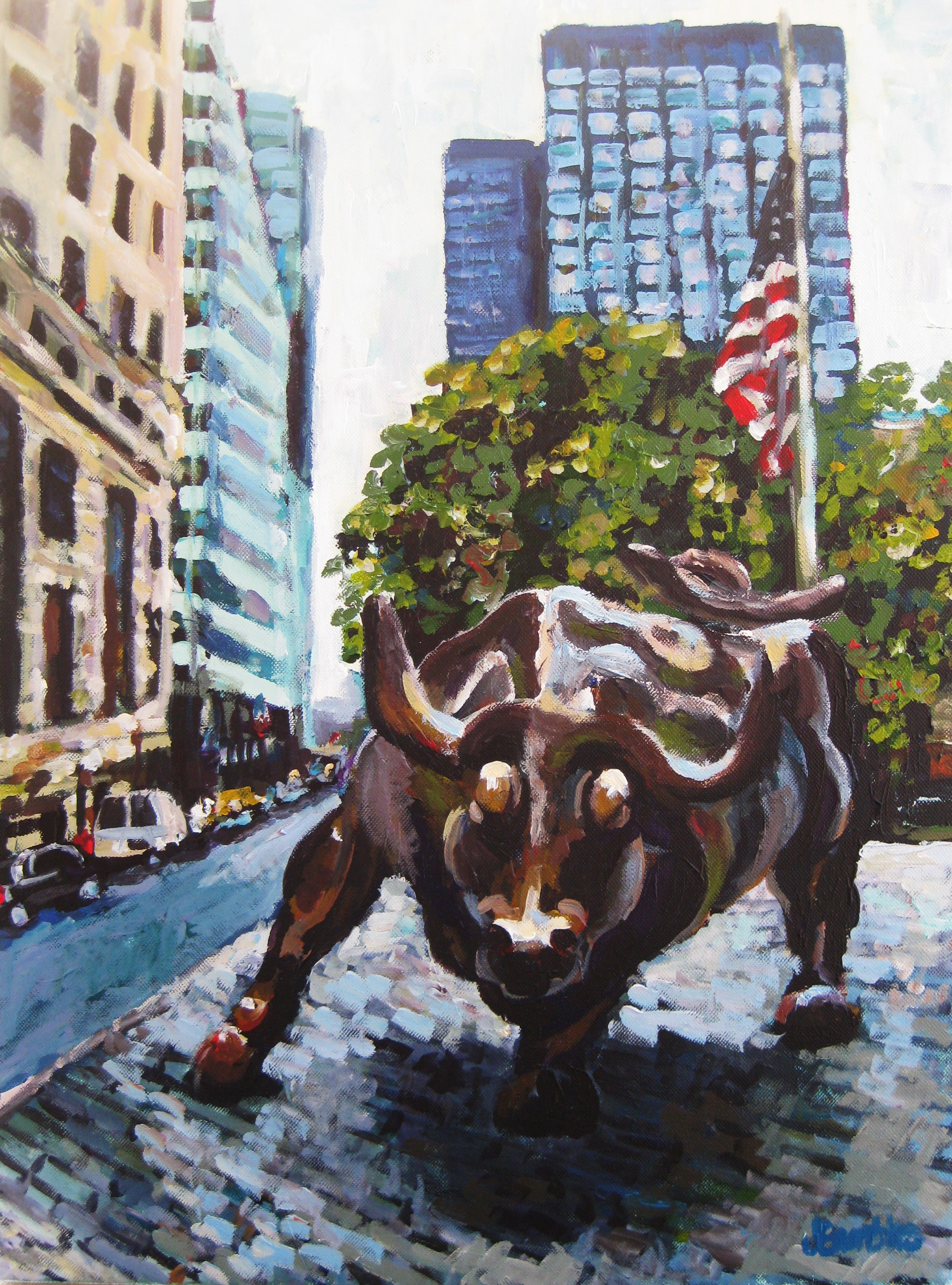 Wall Street 18x24