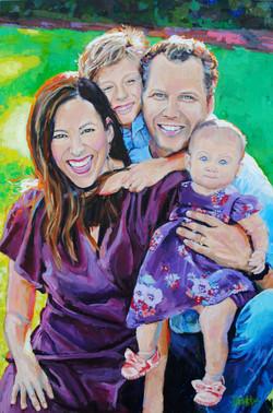 Cain Family 24x36