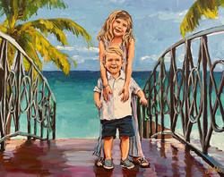 Aniston and Grady 16x20