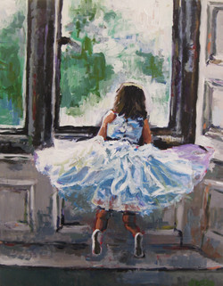 Little Ballerina 22x28