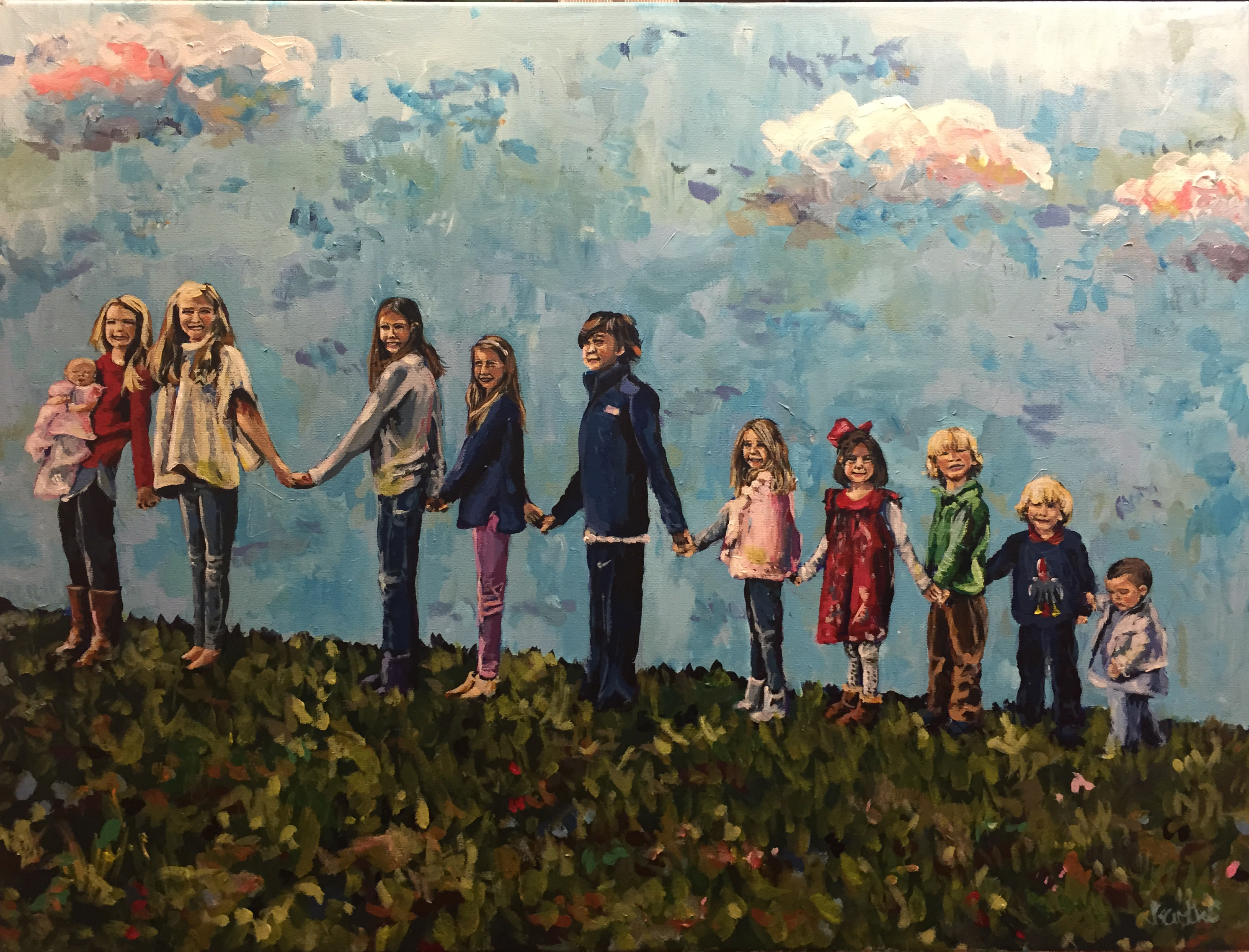 The Barretts 18x24