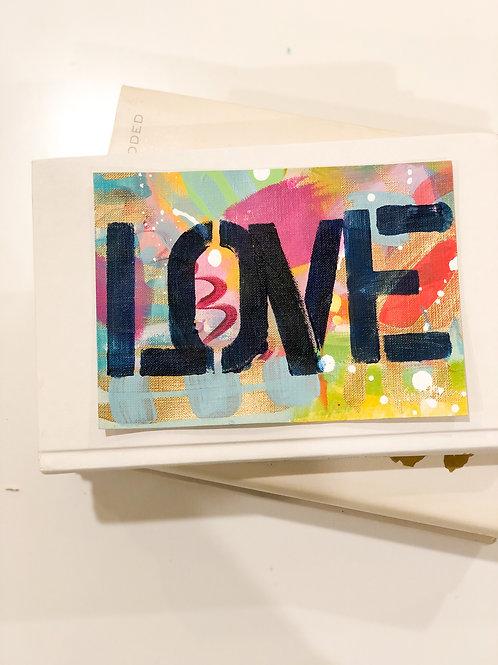 Original Lover Painting Unframed #11