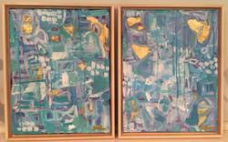Aplaya I & II, 11x14's
