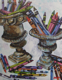 Crayons 2 24x30