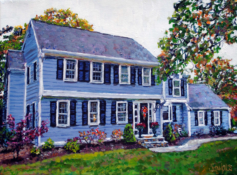 Hanover House 12x16