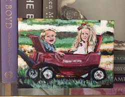 Reese and Keegan 2 5x7