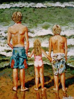 Beach Baby 5 24x30