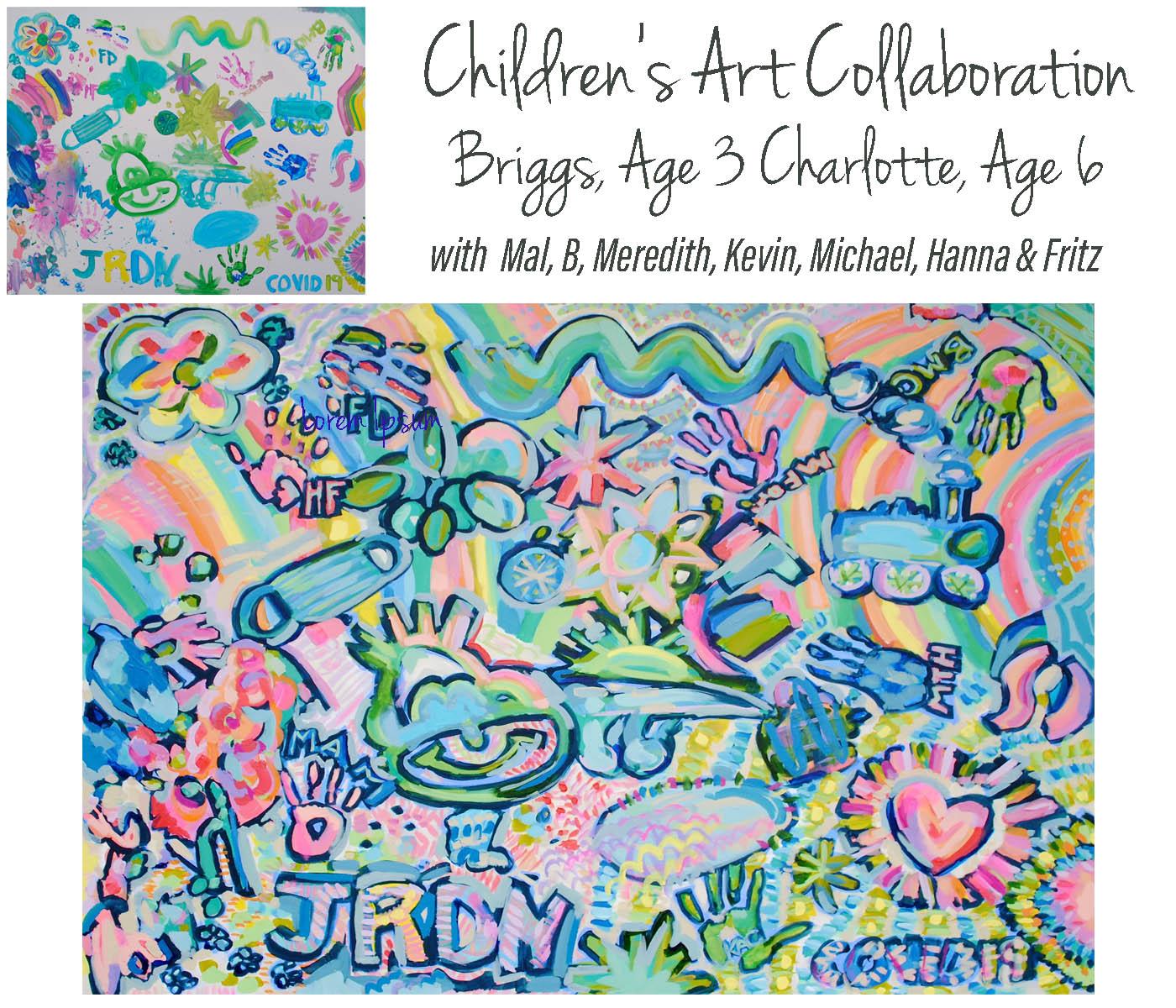 Briggs & Charlotte Collab 48x60
