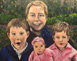 The Inman Family 16x20