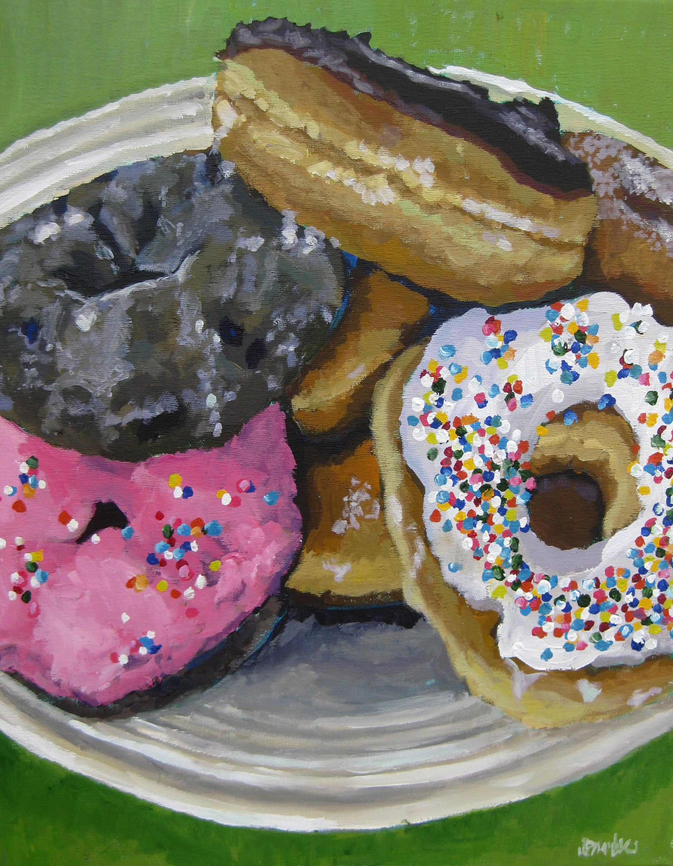 Donuts 16x20