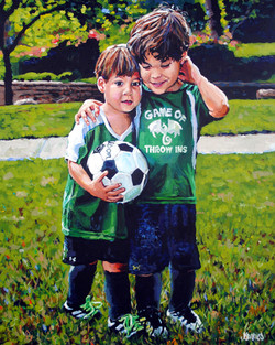 Game of Throw Ins 24x30