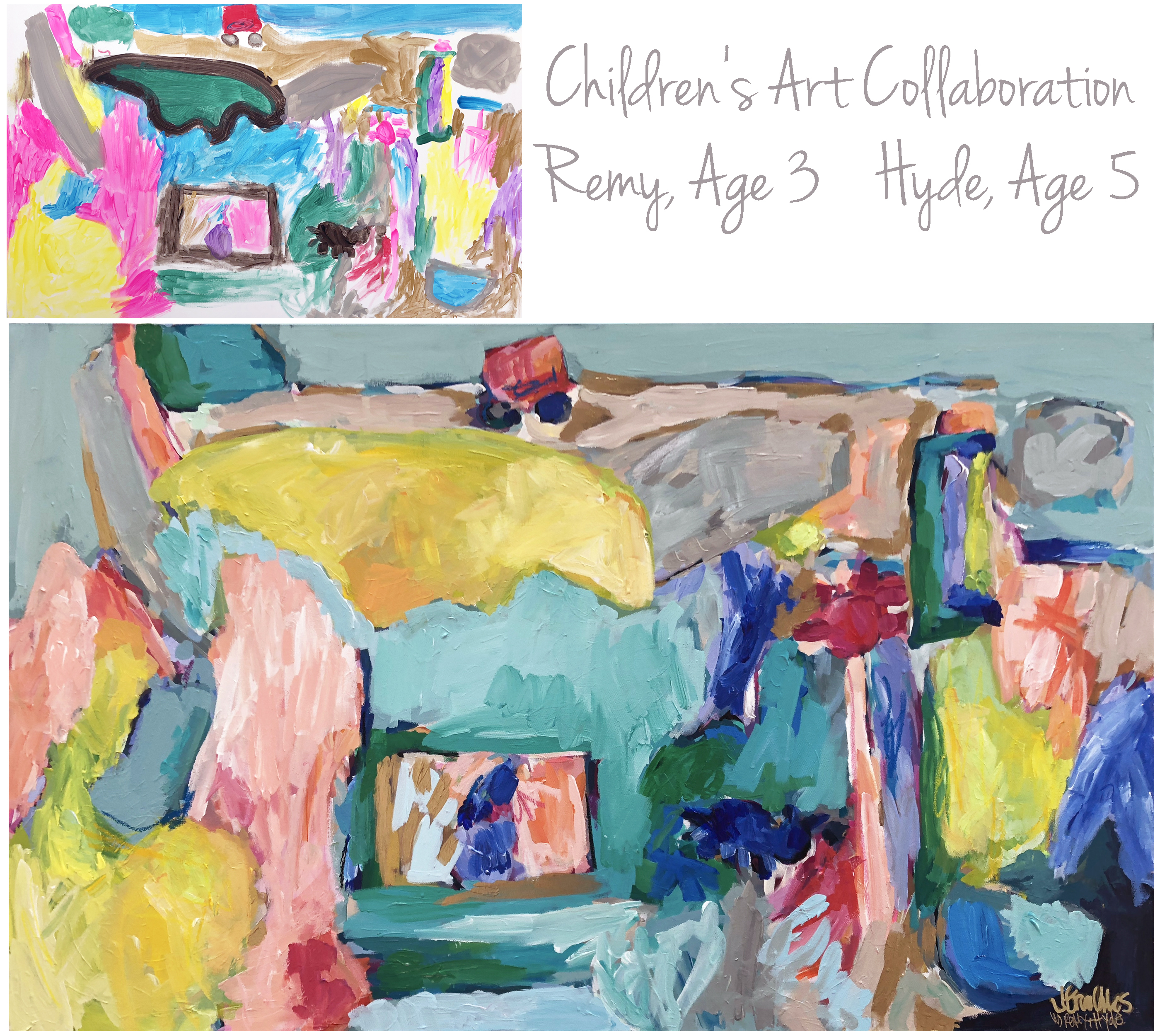 Hills Children Collab 30x48