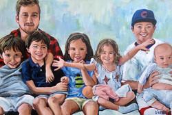 Howard Grandchildren 24x36