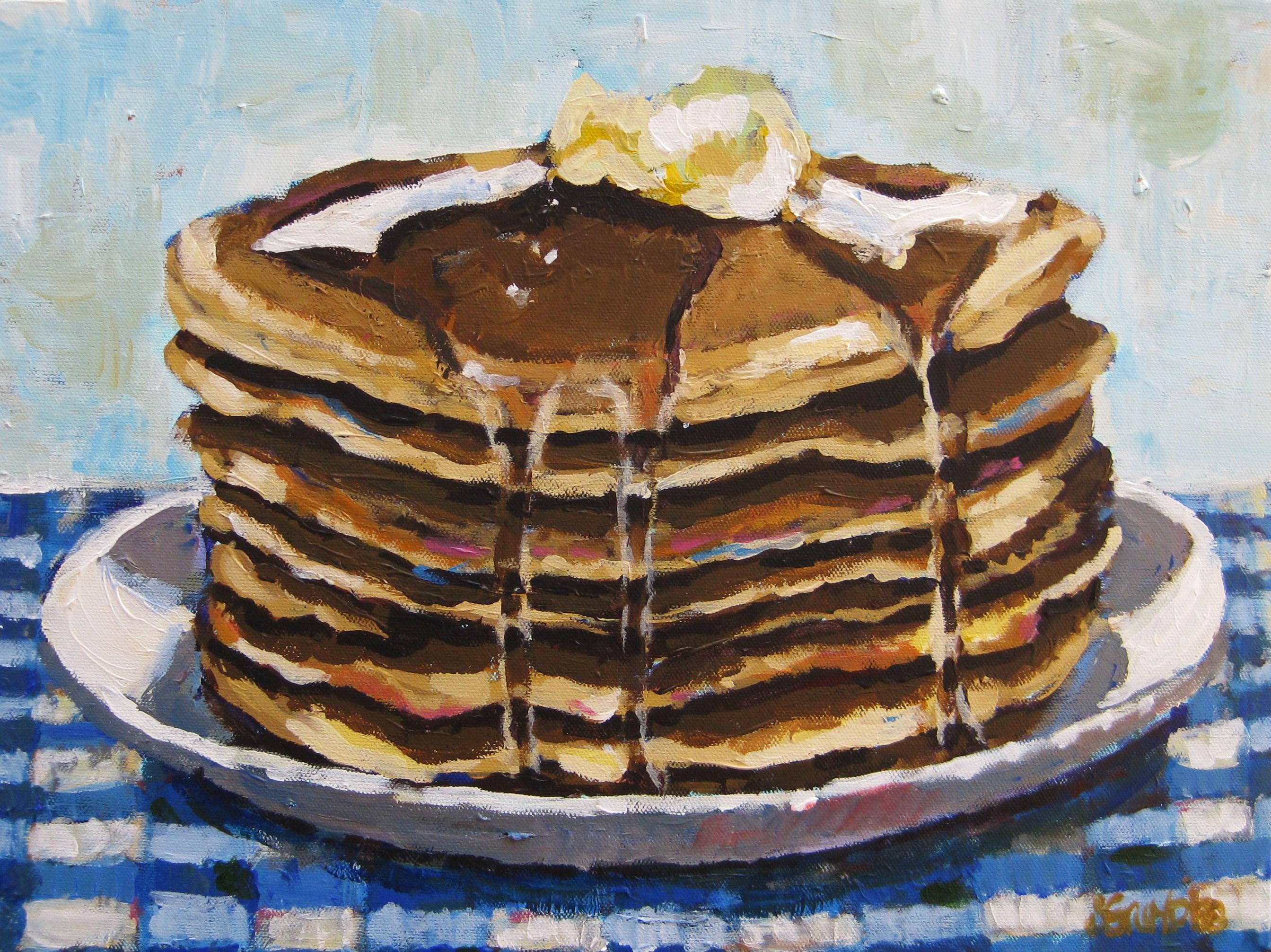 Pancakes 12x16