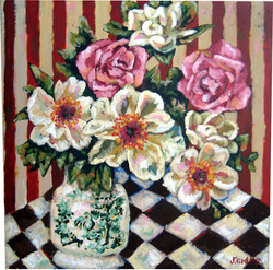 Leslie's Floral 30x30