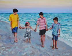 Segarra Beach Babies 11x14