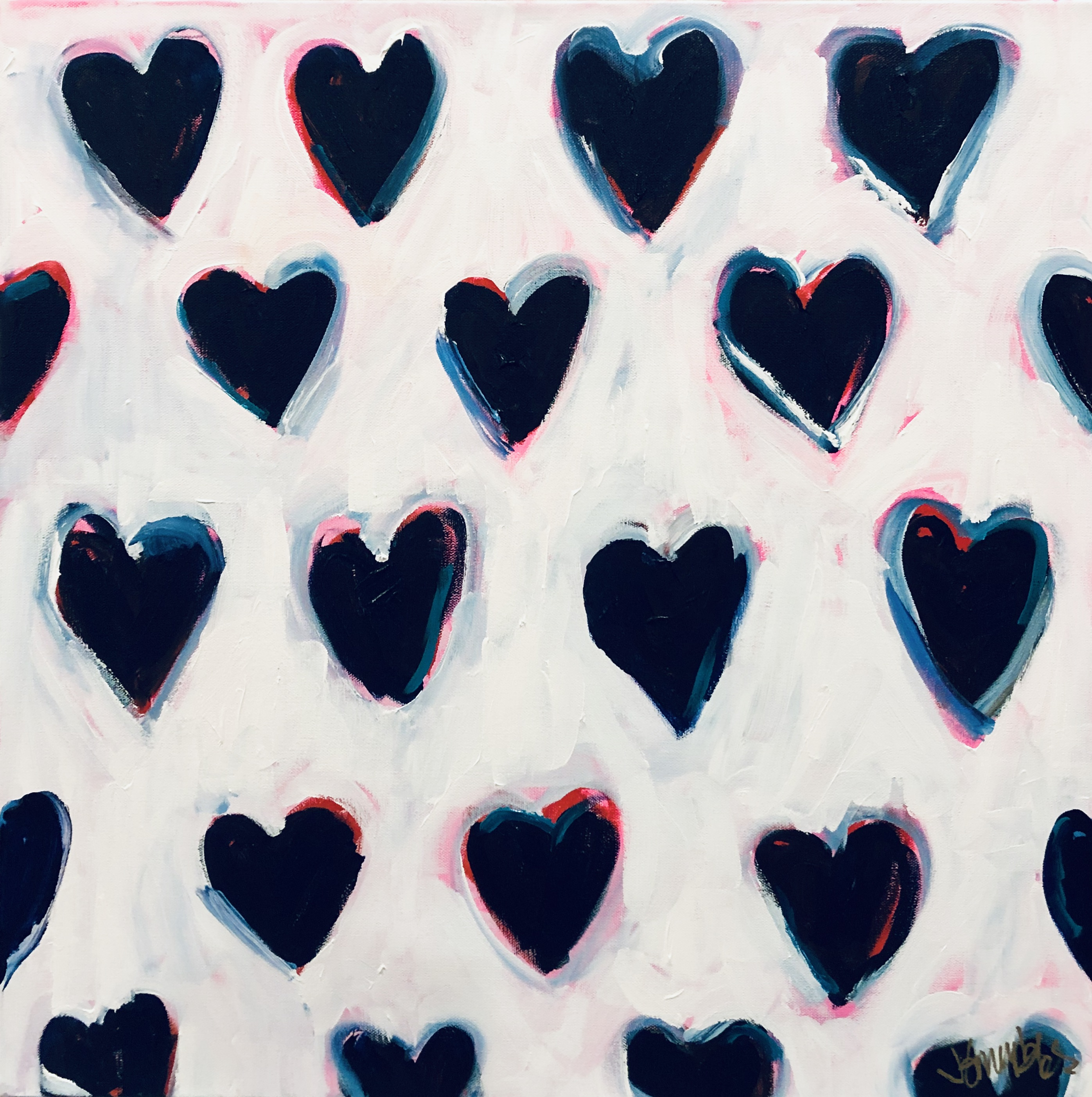 """Love.Repeat."" 24x24"