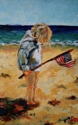 Beach Baby No 13 11x14