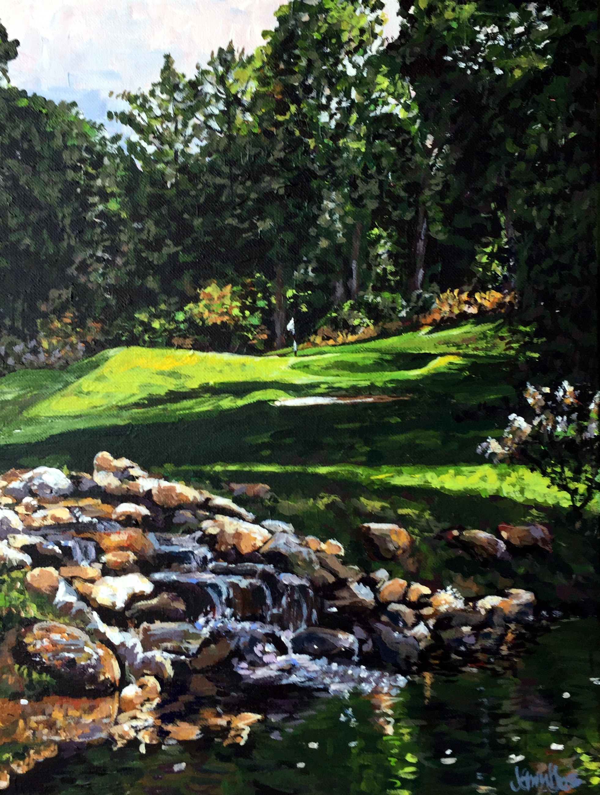 Highlands Country Club 12x16
