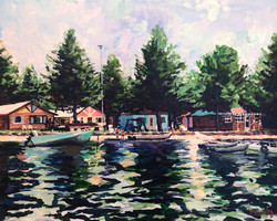 Seagull Lake 16x20