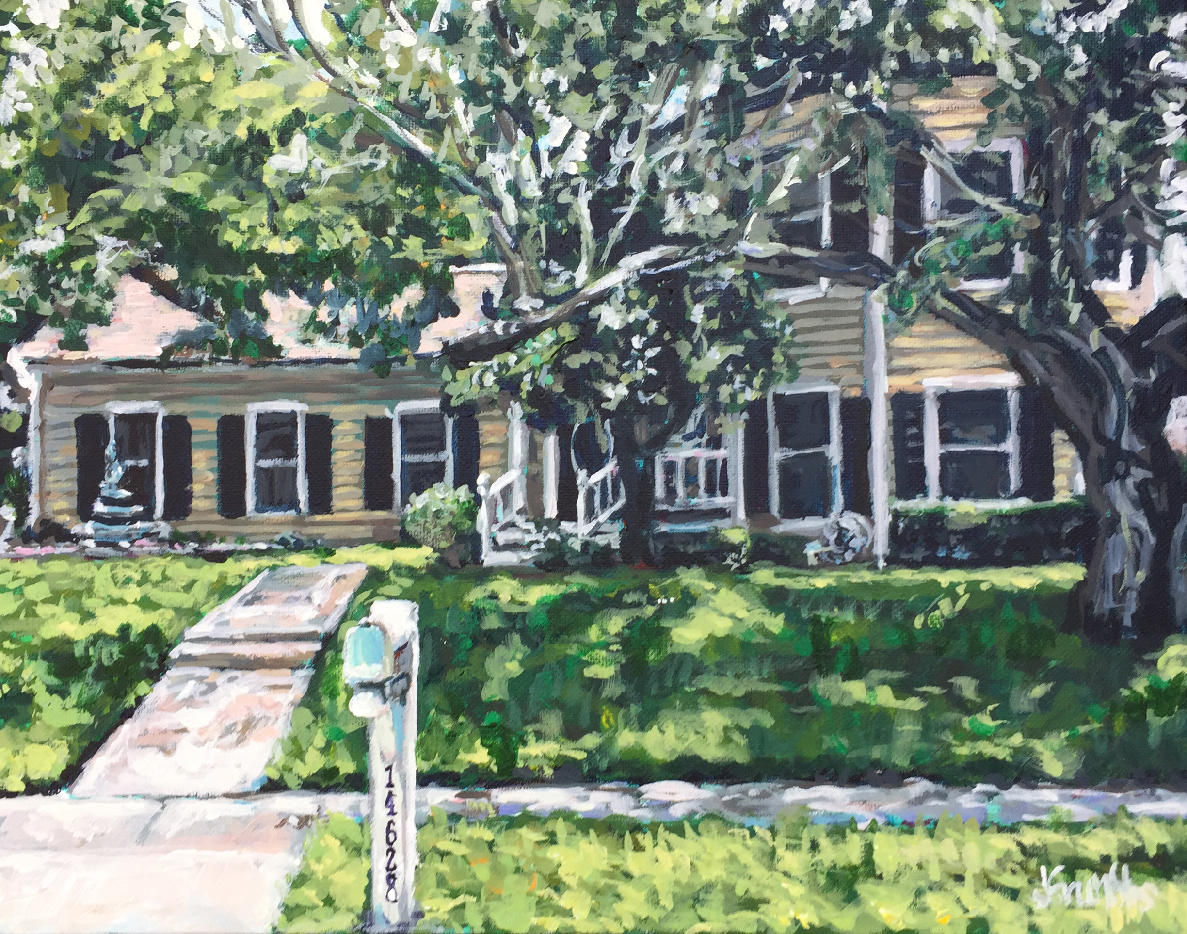 Harrington House 11x14
