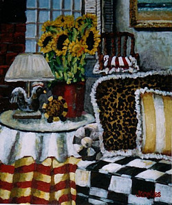 Leopard Living Room 16x20