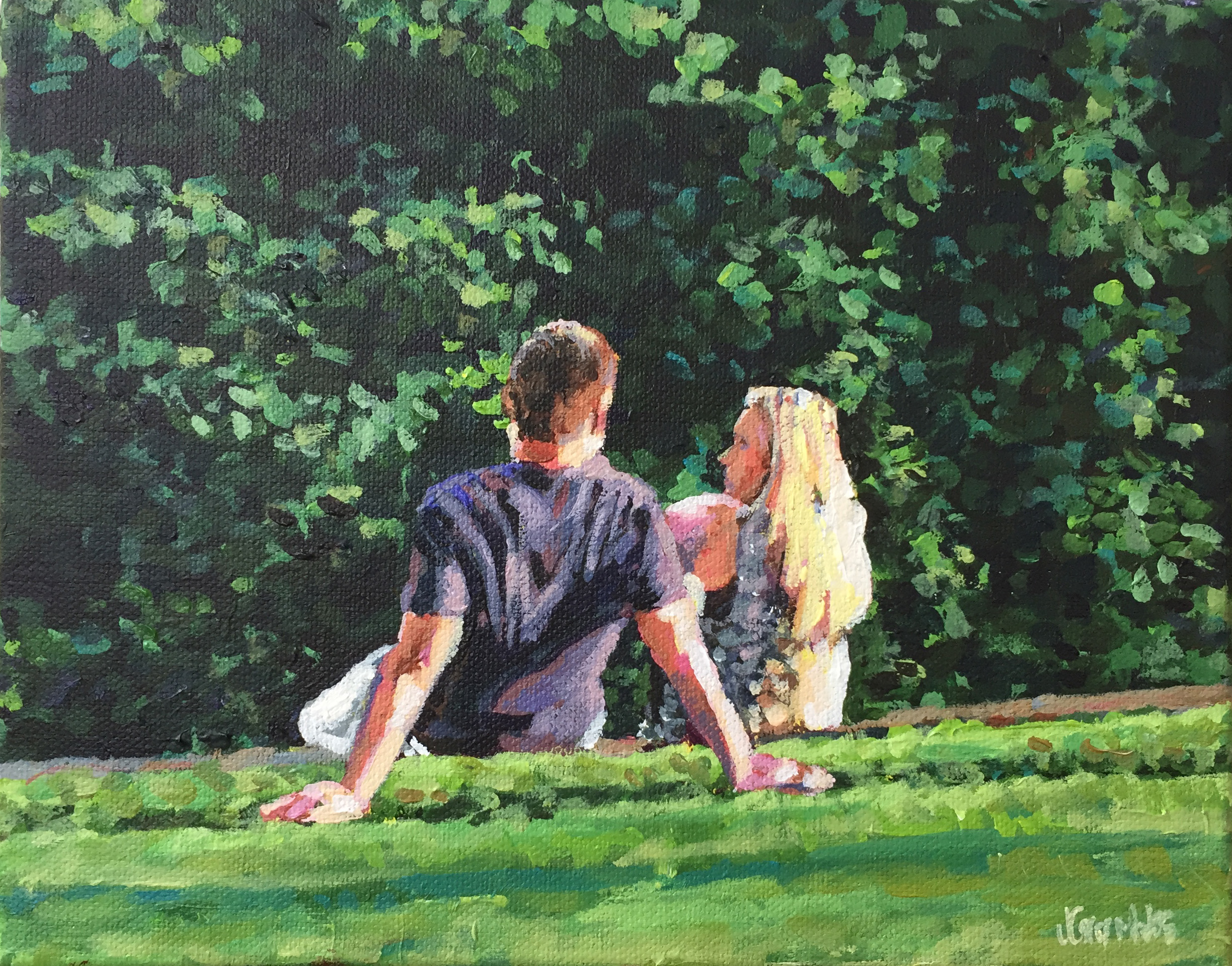 Cute Couple 8x10