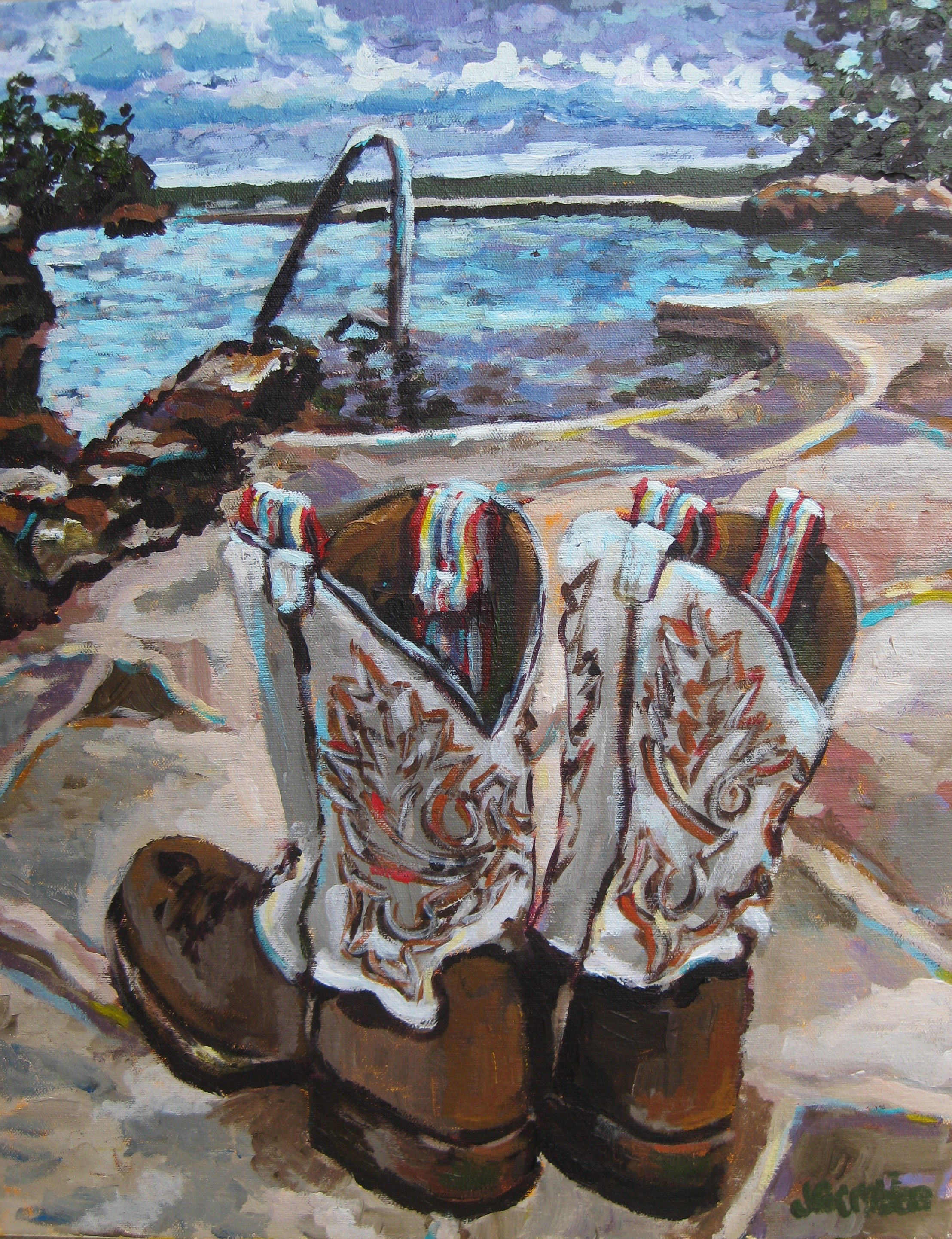 Wildcatter Boots 16x20