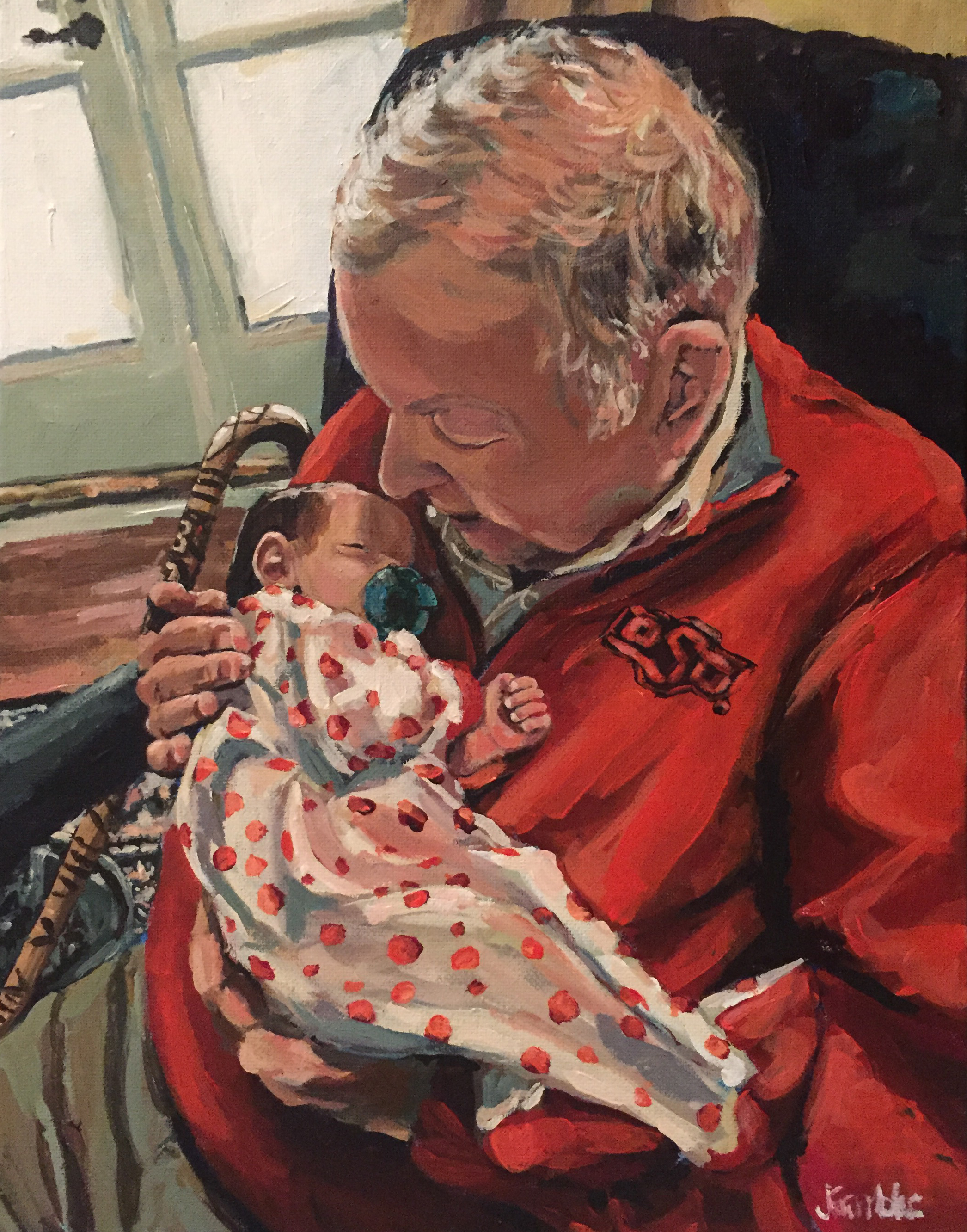 Huntley and Papa 11x14