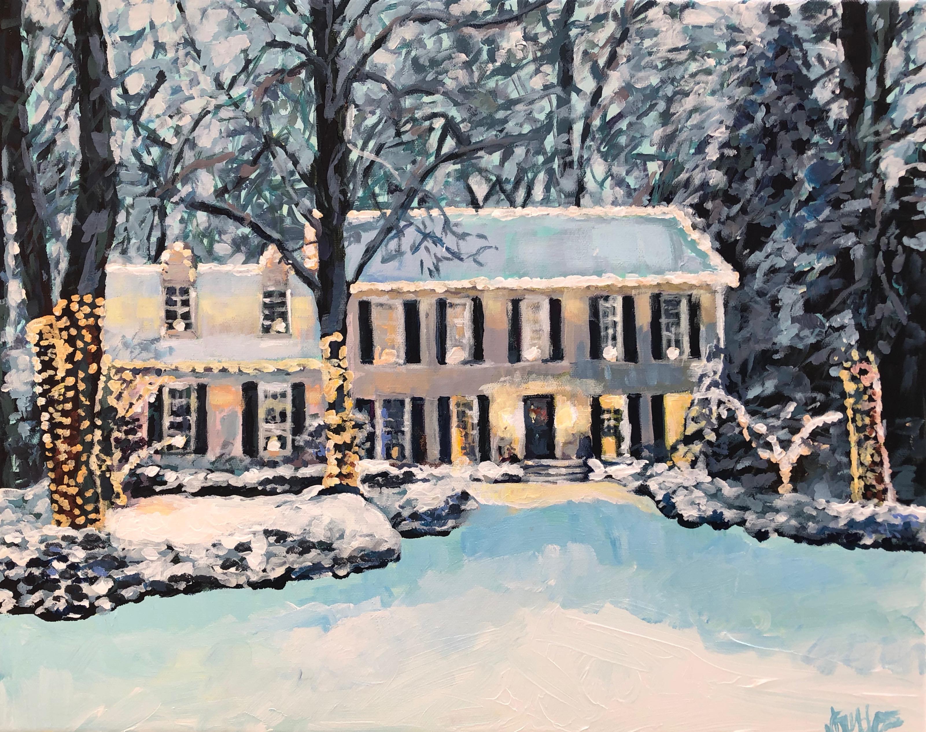 Snow House 16x20
